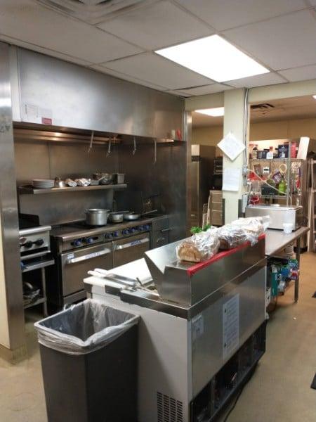 Denver American Legion kitchen